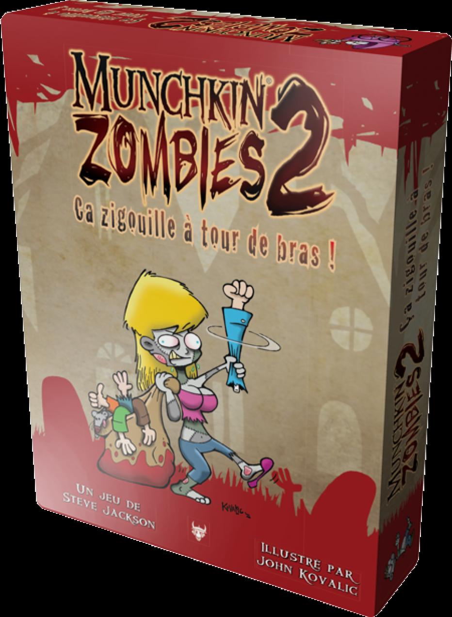 Munchkin Zombies 2 ça va saigner