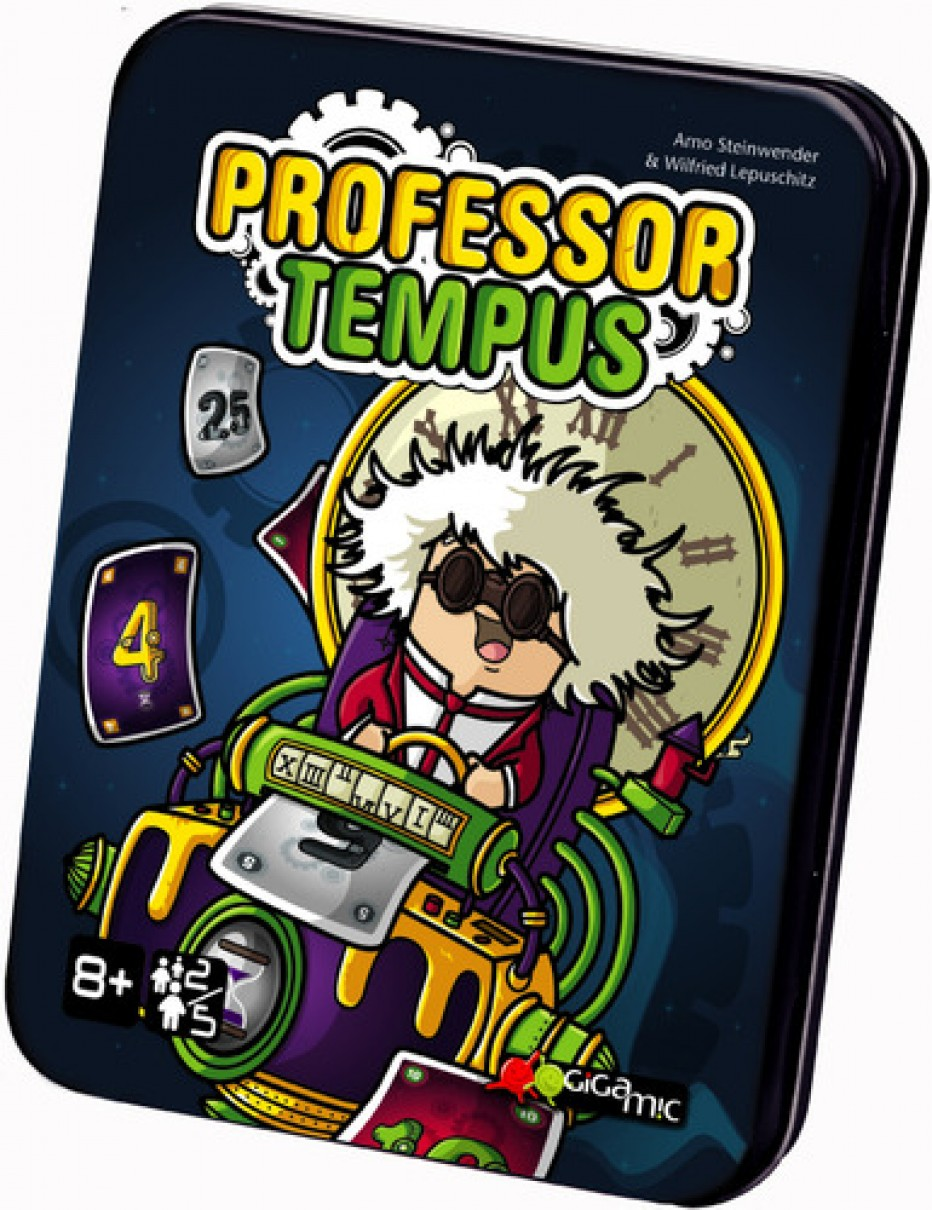 Professor Tempus, Gigamic is watching you