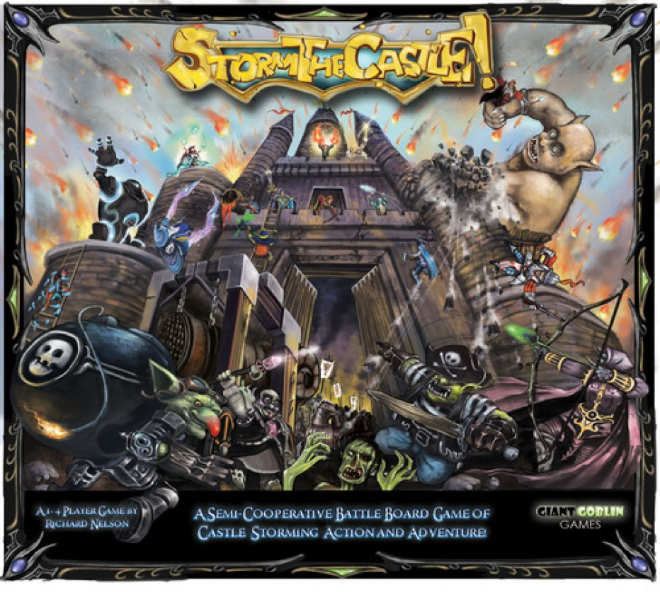 Storm the Castle! nasty nasty game