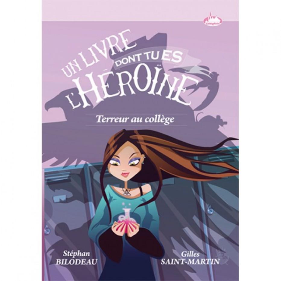 «Terreur au collège» le 1er des livres-jeux exclusivement adressé aux filles