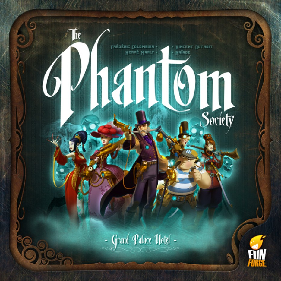 The Phantom Society : un petit goût de ghostbuster !