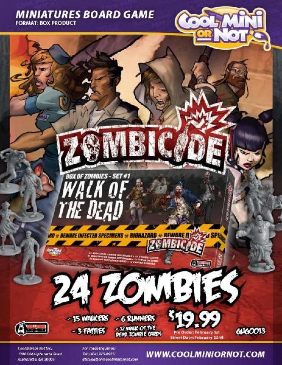 Zombicide walk