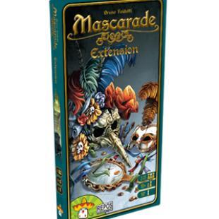 Mascarade l'extension : scénarios et personnages