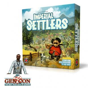 Fendoel to ze Gen Con 2014 : Imperial Settlers – Portal Games