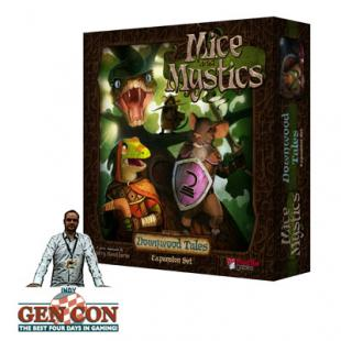 Fendoel to ze Gen Con 2014 : Mice and Mystics : Downwood Tales – Plaid Hat Games