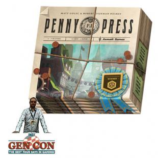 Fendoel to ze Gen Con 2014 : Penny Press – Asmadi Games