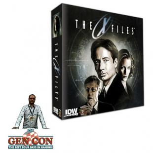 Fendoel to ze Gen Con 2014 : The X-Files – Pandasaurus & IDW Games