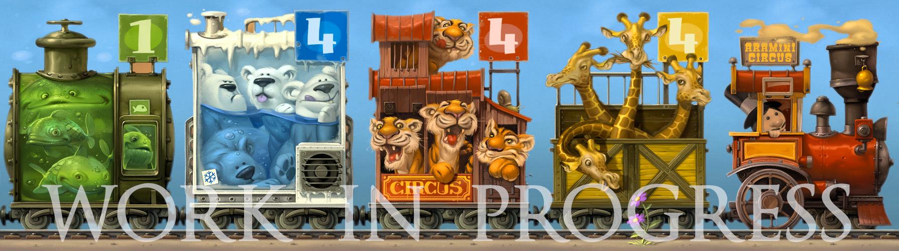 Aramini-Circus_artwork_WIP