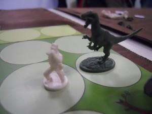 Maman Raptor va manger