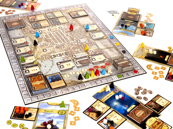 Dungeons-and-Dragons-Lords-of-Waterdeep-in-play