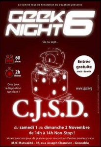 Geek Night 6
