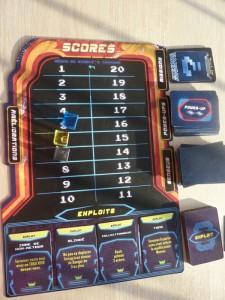 Kemble - scoreboard