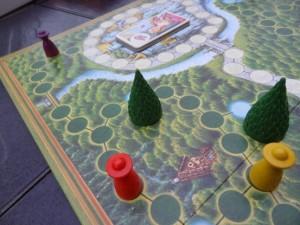 Branle-bas de combat ! Le violet est en route pour le château !