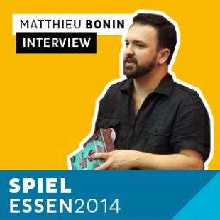 Essen 2014 – Day 1 – Interview Matthieu Bonin – Iello – VF