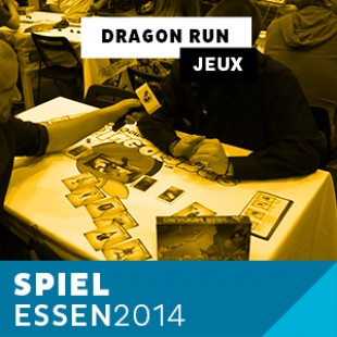 Essen 2014 – Day 1 – Dragon Run – Blue Orange – VF