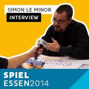 Essen 2014 – Day 1 – Interview Simon Le Minor – Blue Orange – VF