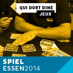 Essen 2014 – Day 1 – Qui dort dine – Le scorpion Masqué – VF
