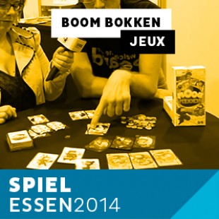 Essen 2014 – Day 2 – Boom Bokken – Playad Games – VF
