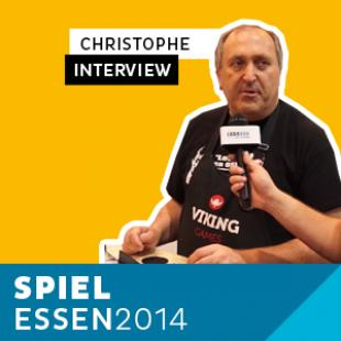 Essen 2014 – Day 2 – Interview Christophe – Viking Games – VF