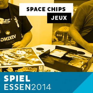 Essen 2014 – Day 2 – Space Chips – Viking – VF