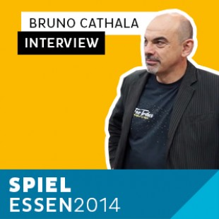 Essen 2014 – Day 3 – Interview Bruno Cathala – Hurrican – VF