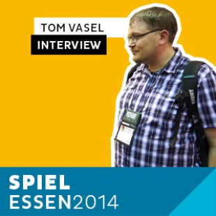 Essen 2014 – Day 3 – Interview Tom Vasel – VOSTFR