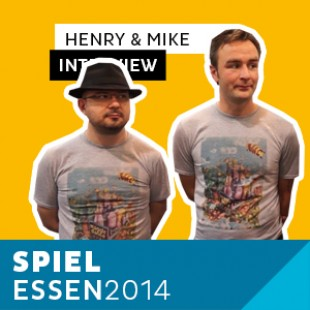 Essen 2014 – Day 3 – Interview Mike & Henry – Grublin Games – VOSTFR