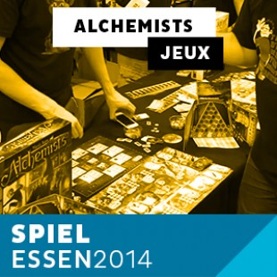 Essen 2014 – Day 4 – Alchemists – Czech Games – VOSTFR
