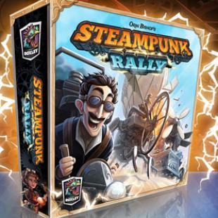 Des nouvelles de Steampunk Rally ! [KS]