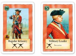 Pour une action, on peut augmenter de 3 son score de siège en jouant ces deux cartes