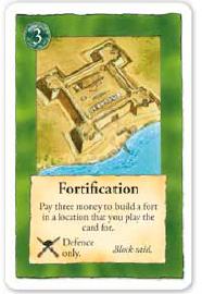 La carte de fortification, très polyvalente