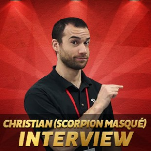 Cannes 2015 – Interview Christian – Scorpion Masqué
