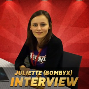 Cannes 2015 – Interview Juliette – Bombyx