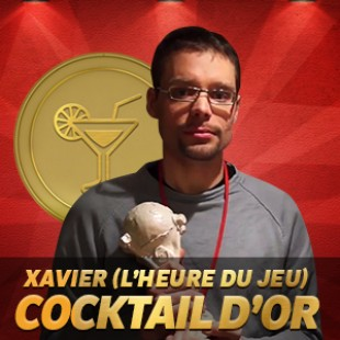 Cannes 2015 – Cocktails d'or – Interview Xavier de l'Heure du jeu
