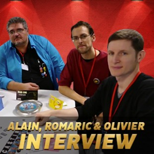 Cannes 2015 – Interview Alain, Romaric & Olivier – Blue Cocker