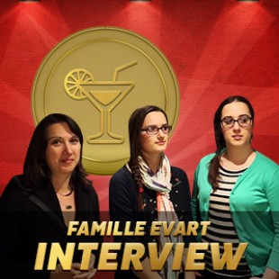 Cannes 2015 – Cocktails d'or – Interview Famille Evart