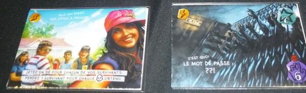 Exemple de cartes Aventure