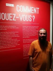 Sebastien Hovart, commissaire de l'exposition