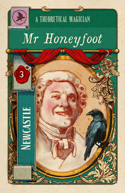 Jonathan Strange & Mr Norrell into a board game (1)