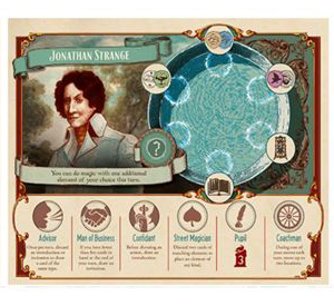 Jonathan Strange & Mr Norrell into a board game (2)