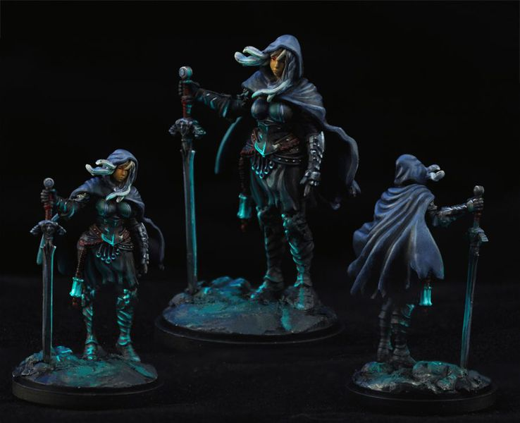 KDM figurines by spiralingcadaver