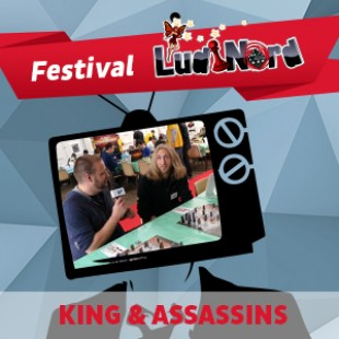 Ludinord 2015 – King & Assassins – Runes Editions