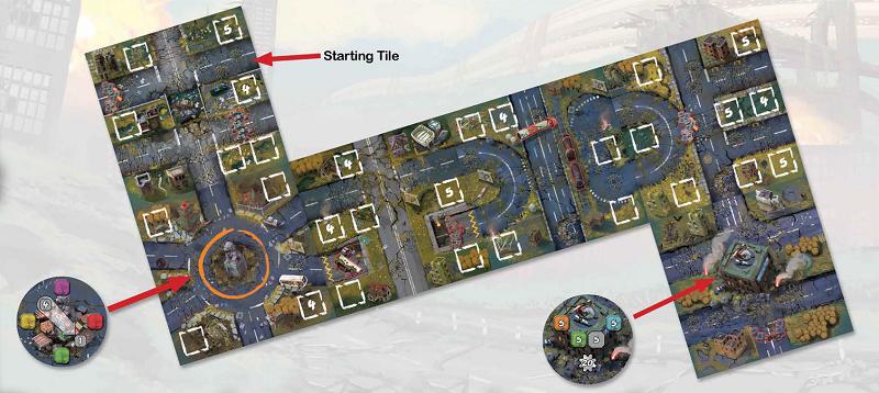 Map city scenario