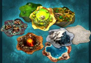 Monumental Exemple de Tuiles Terrain