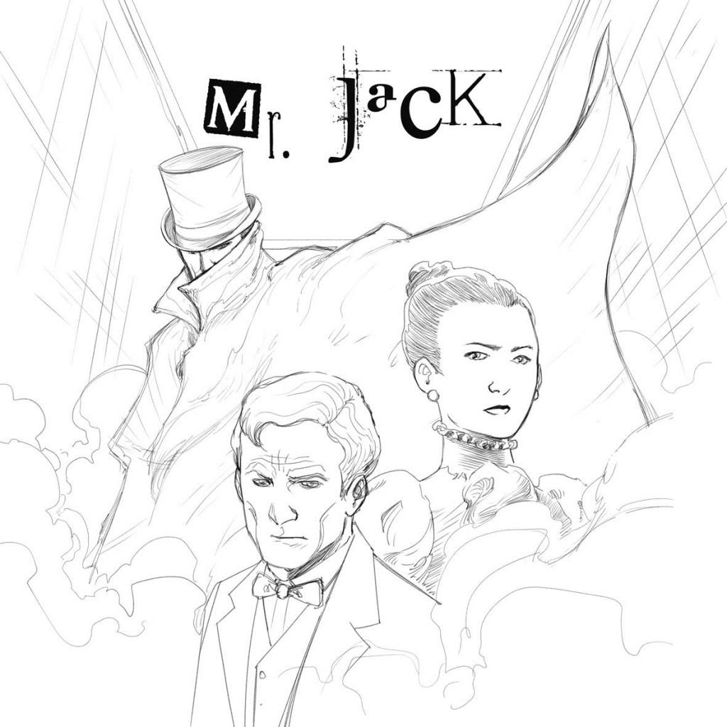 Mr Jack Pocket extension Crayonné de Couverture