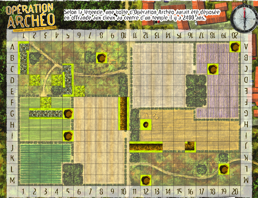 Operation arché concours ludovox Concours MAP