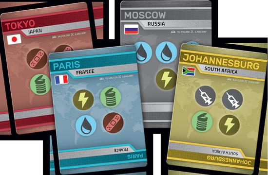 Pandemic rapid-response-materiel cartes