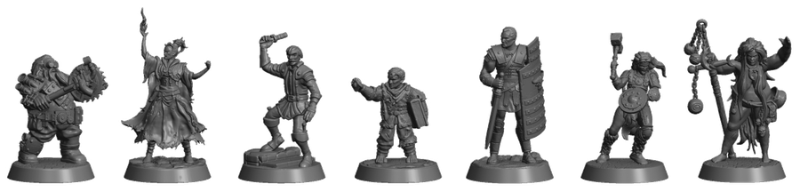 Perdition's Mouth Abyssal Rift figurines