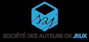Societe des auteurs de jeux SAJ logo