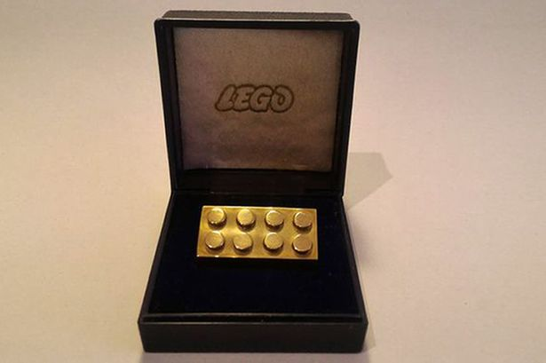 Solid-gold-Lego-brick-sale